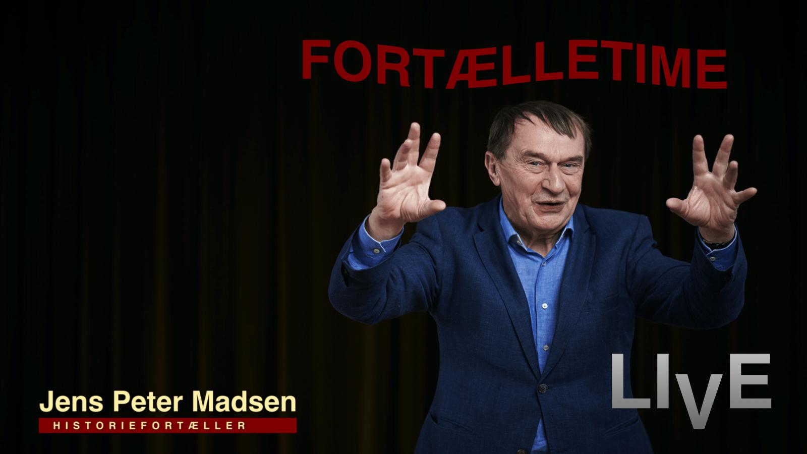 fortælletime ved Jens Peter Madsen  – Fotograf Ard Jongsma