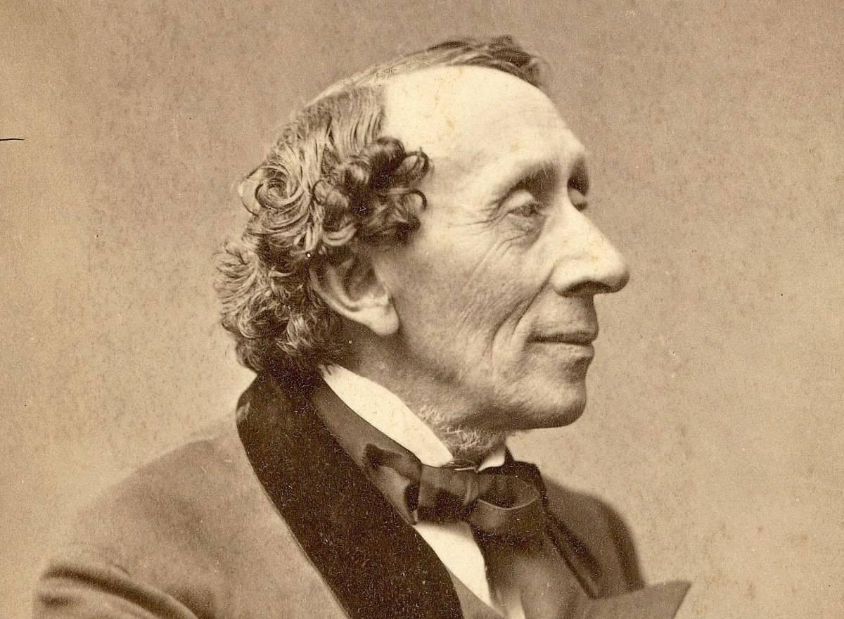 Min H. C. Andersen – foto: Thora Hallager, 1869