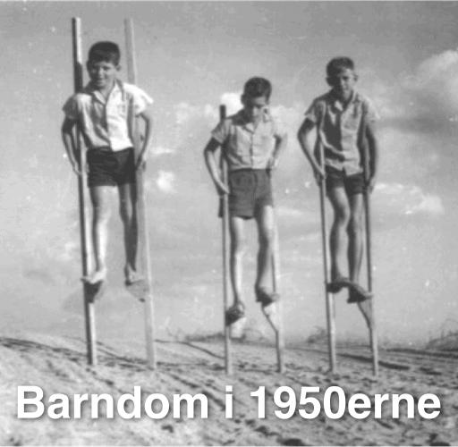 Barndom i 1950erne